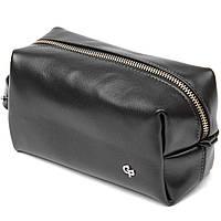 Шкіряна чоловіча сумочка GRANDE PELLE 11415 Чорний