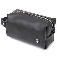 Шкіряна сумочка для чоловіків GRANDE PELLE 11507 Чорний