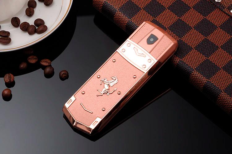 H-Mobile A8 (Mafam A8) pink. Vertu design