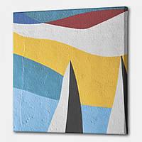 Картина Хвилі фарб Настільний Store 75x75 см KV0802 BS, КОД: 2653999
