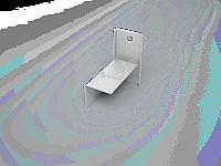 Кронштейн фасадный (кронштейн выравнивающий стальной оцинкованный) профили для ЛСТК
