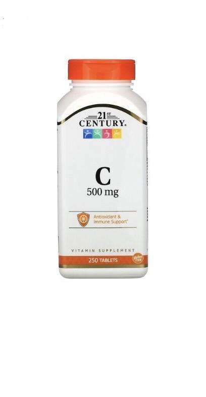 Витамин С 250 мг, 250 таблеток