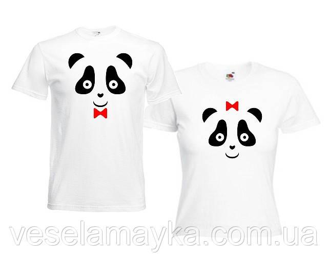 "Парна""Панда"" футболка ""Панда"""