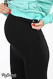 Теплые лосины для беременных Berta 12.46.041, черные, фото 3