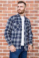 Рубашка мужская фланелевая теплая, есть большие размеры, плотная высокого качества MNT, фото 3