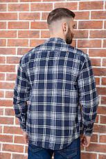 Рубашка мужская фланелевая теплая, есть большие размеры, плотная высокого качества MNT, фото 2