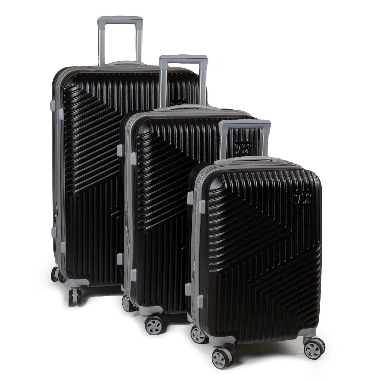 Дорожная Чемодан 31 ABS-пластик 802 black