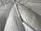 Пляжний зонт 3а 2,2 метра посилений, фото 3