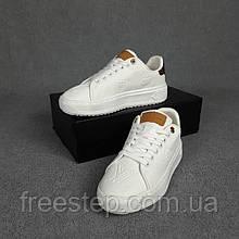 Жіночі кросівки в стилі Louis Vuitton Time Out білі