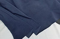 Несичено Темно синій. Трехнитка на флісі , ширина 1,8 м ; 250 г/м²