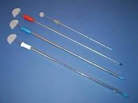 Дренаж торакальный (на металлическом стилете - троакаре)d 4mm