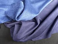 Тканина замш на дайвінге, темно синій, фото 1