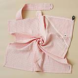 """Вафельное полотенце """"Wafel"""", розовое, кирпичное, белое, голубое, бежевое, фото 5"""