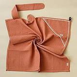 """Вафельное полотенце """"Wafel"""", розовое, кирпичное, белое, голубое, бежевое, фото 7"""