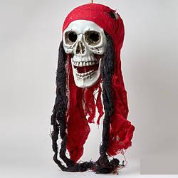 Подвесной декор Череп Пират \ с внутренним светом