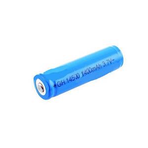 Аккумулятор 14500-1400, защита, синий