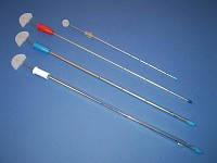 Дренаж торакальный (на металлическом стилете - троакаре) D 6mm, фото 1