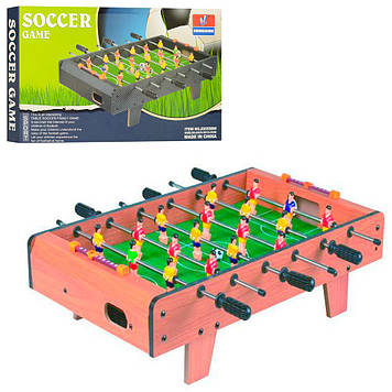 Классический футбол на штангах для детей Настольная игра футбол в деревянном корпусе со шкалой ведения счета