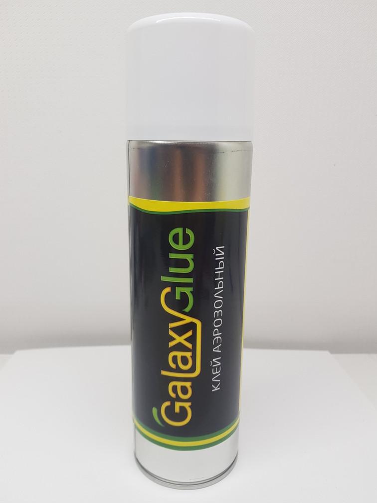 Аерозольний Клей GalaxyGlue для склеювання поролону, карпета, ковроліну 500мл