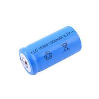 Аккумулятор 16340-1400mAh, синий
