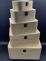 Скринька для декупажу. 5шт/комплект. 30х22х14см