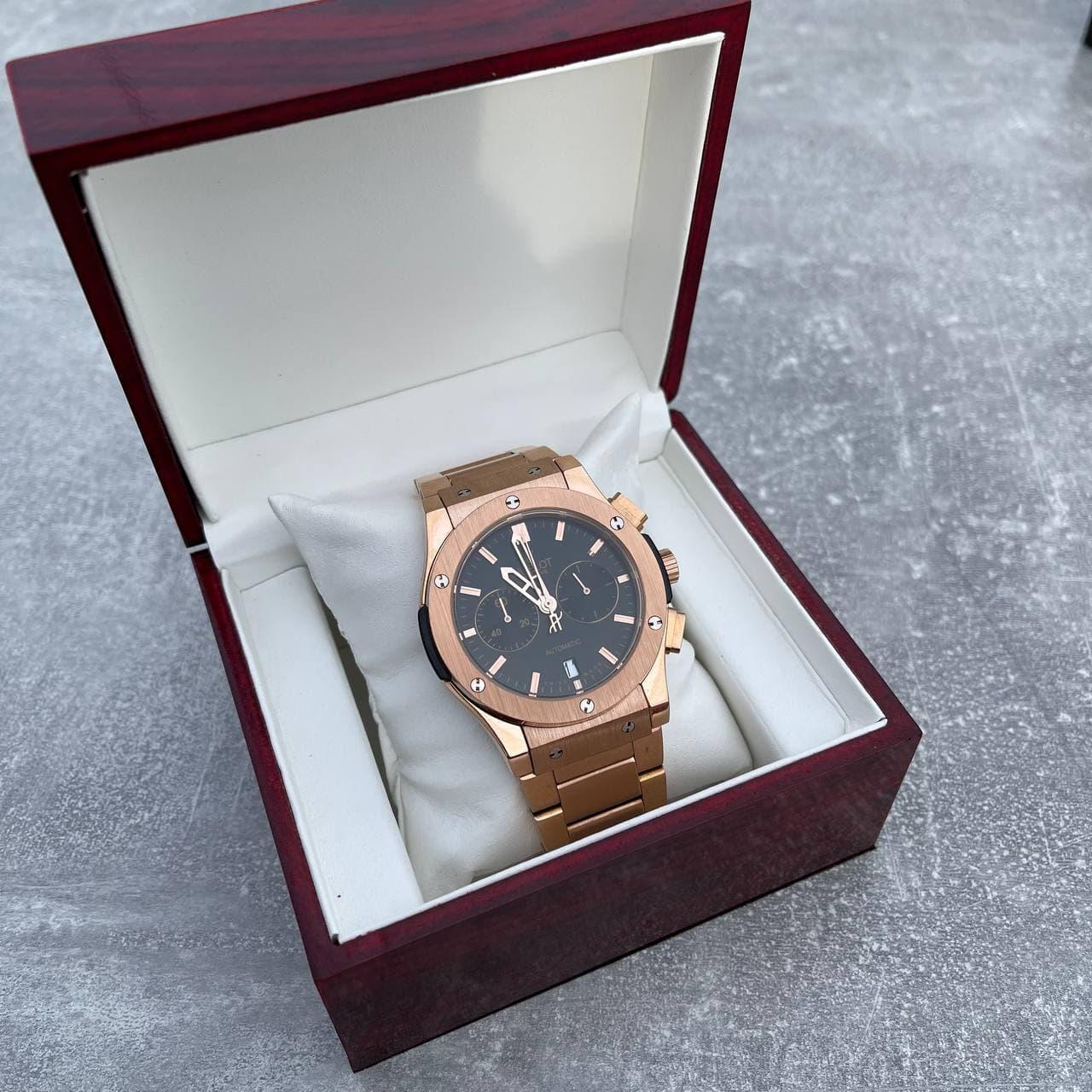 Часы наручные H u b l o t  5828 Classic Fusion Gold-Black Metall