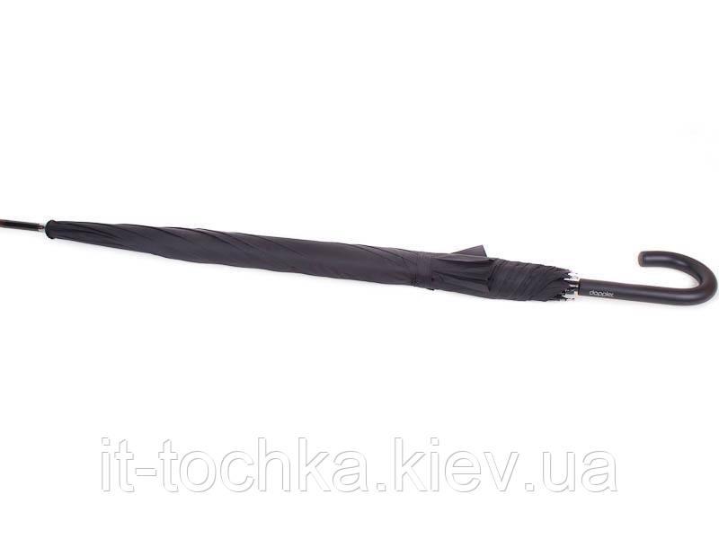 Зонт-трость чоловічий напівавтомат з великим куполом doppler (ДОППЛЕР) dop71666