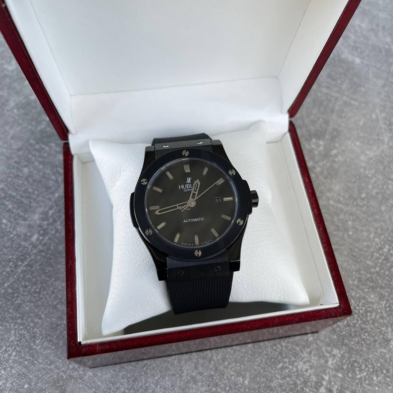 Часы наручные H u b l o t  Classic Fusion All Black премиального ААА класса