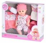 Багатофункціональна лялька пупс same toy 8019i2ut ukoka 35 см з горщиком, фото 2