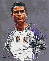 "Набор для росписи, картина по номерам, ""Ronaldo"", 40х50см, ТМ ""RIVIERA BLANCA"""