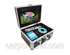 """Підводна відеокамера для риболовлі CARP CRUISER CC7-iR15 підсвічування 12 ік діодів 7"""" монітор в кейсі"""