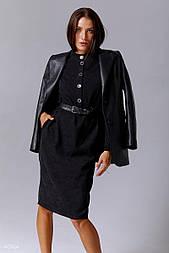 Чорне плаття вельветове