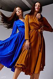 Сукня кольору міді електрик