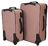 Набор чемоданов Bonro Best 2 штуки,  розовый (10080703), фото 2