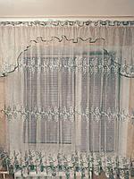 "Готовая тюль до подоконника  ""Карина"" (ширина 4 м, высота 1,8 м), фото 1"