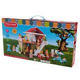 Кукольный домик Happy family 1514 Двухэтажный домик для игрушек + Подарок, фото 2