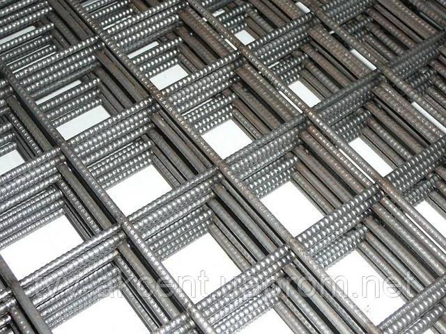 Сетка кладочна ВР-1 50х50х4мм ГОСТ раскрой карты 0,38х2м,0,5х2м,1х2м,2х3м,2х4м
