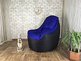 Крісло мішок, безкаркасне крісло, м'який пуф, крісло BOSS ХХЛ, Виробництво, фото 2