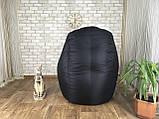 Крісло мішок, безкаркасне крісло, м'який пуф, крісло BOSS ХХЛ, Виробництво, фото 3