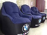 Крісло мішок, безкаркасне крісло, м'який пуф, крісло BOSS ХХЛ, Виробництво, фото 6
