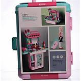 Детский игровой набор чемодан-трюмо 8254P туалетный столик для девочек + Подарок, фото 4