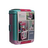 Детский игровой набор чемодан-трюмо 8254P туалетный столик для девочек + Подарок, фото 6