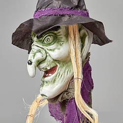 Подвесной декор Ведьма \ с мигающими глазами