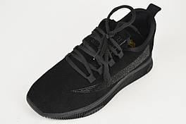 Кросівки жіночі замшеві Lonza 369111 36 Чорні