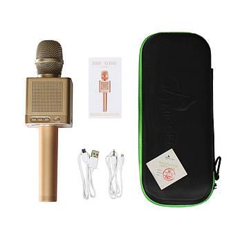 Караоке мікрофон MicGeek Q10s+ Золотистий (121)