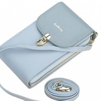 Жіночий клатч Baellerry N8593 Blue Ladies Phone Bag (4191-11946a)