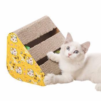 Когтеточка для кота с игрушками Taotaopets 044418 28*24*13 см