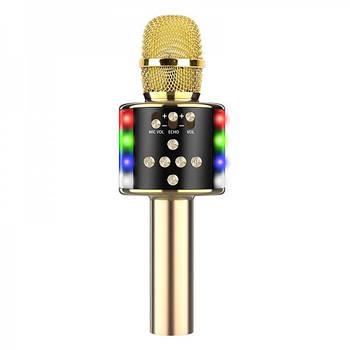 Караоке мікрофон D168 Золотий (237)