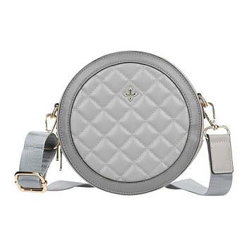 Жіноча сумочка Lesko N9318 Gray