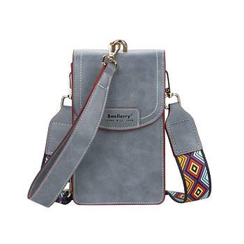 Жіноча сумочка-гаманець Lesko N8608 Blue